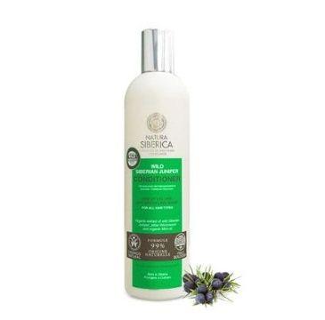 Natura Siberica balsam do włosów organiczny jałowiec 400 ml