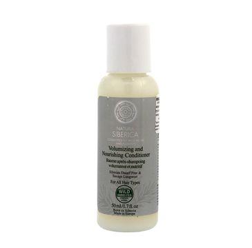 Natura Siberica balsam do wszystkich typów włosów objętość i pielęgnacja 50 ml