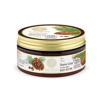 Natura Siberica Body Butter odżywcze masło do ciała Siberian Cedar 300ml