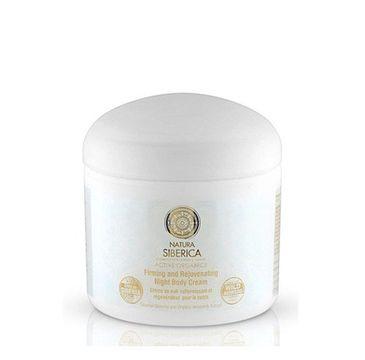 Natura Siberica Firming And Rejuvenating Night Body Cream wzmacniająco-regenerujący krem do ciała na noc 370ml