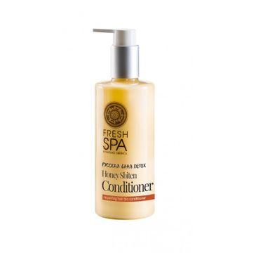 Natura Siberica Fresh Spa Honey Sbiten Conditioner regenerująca odżywka do włosów farbowanych 300ml