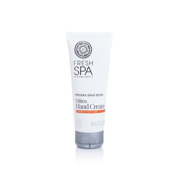 Natura Siberica Fresh Spa Mitten Hand Cream ochronny krem do rąk 75ml