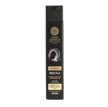 Natura Siberica men szampon dla mężczyzn aktywator wzrostu Beluga 250 ml