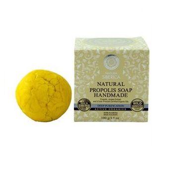 Natura Siberica Natural Propolis Soap Handmade naturalne ręcznie robione mydło propolisowe 100g