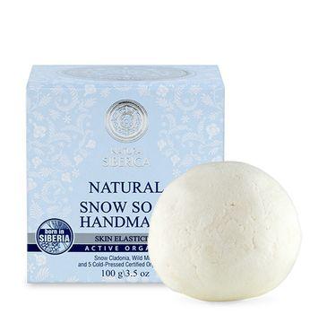 Natura Siberica Natural Snow Soap Handmade naturalne ręcznie robione śnieżne mydło 100g