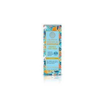 Natura Siberica Oblepikha Professional krem do rąk z rokitnikiem odżywczo-ochronny 75 ml