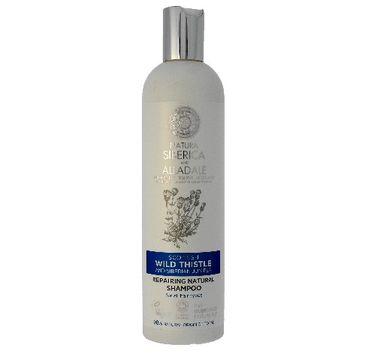 Natura Siberica szampon do włosów zniszczonych naprawczy 400 ml
