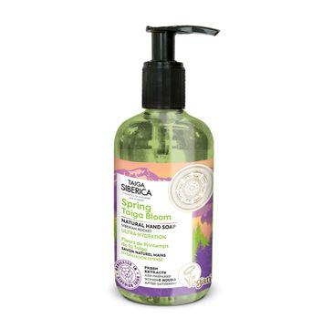 Natura Siberica Taiga Siberica naturalne intensywnie nawilżające mydło do rąk Spring Taiga Bloom (300 ml)