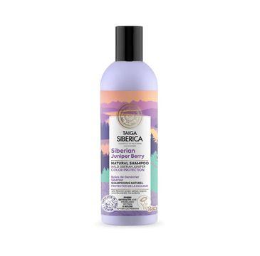 Natura Siberica Taiga Siberica Siberian Juniper Berry wegański szampon do włosów farbowanych z jagodami syberyjskiego jałowca Ochrona Koloru (270 ml)