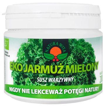 Natura Wita Eko Jarmuż Mielony susz warzywny 200g
