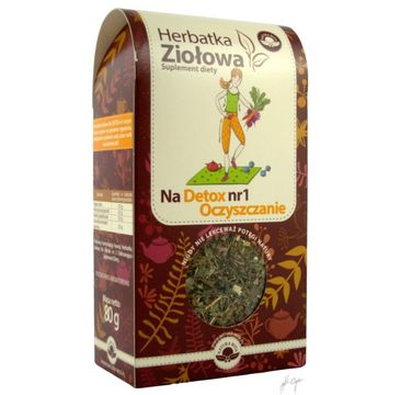 Natura Wita Herbatka Ziołowa detox nr1 oczyszczenie suplement diety 80g