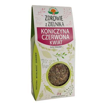 Natura Wita Zdrowie z Zielnika Koniczyna Czerowna Kwiat susz ziołowy 25 g
