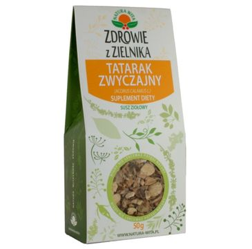 Natura Wita Zdrowie z Zielnika Tatarak Zwyczajny susz ziołowy suplement diety 50g