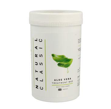 Natural Classic Aloe Vera Treatment Wax Odżywczy wosk do włosów (480 ml)