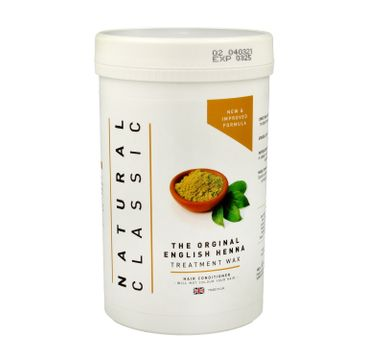 Natural Classic Treatment Wax Odżywka z henną do włosów (480 ml)