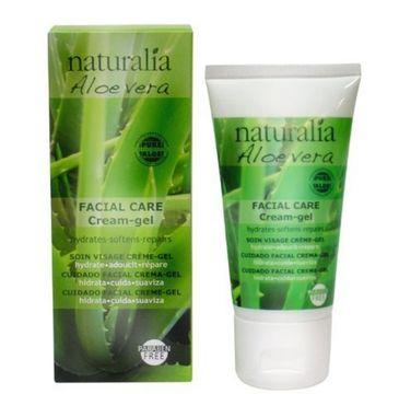 Naturalia Aloe Vera Facial Care Cream-Gel nawilżający krem do twarzy 50ml