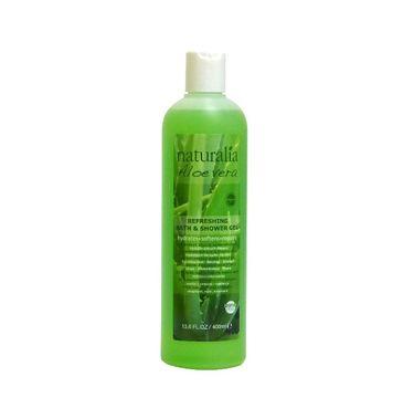 Naturalia Aloe Vera Refreshing Bath & Shower Gel odświeżający żel do mycia ciała 400ml