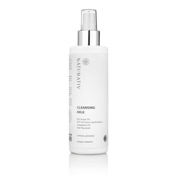 Naturativ Cleansing Milk mleczko do demakijażu 200ml