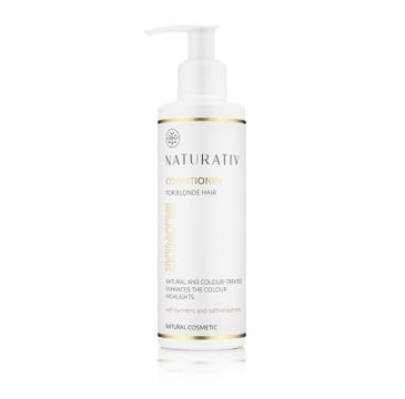 Naturativ Conditioner For Blonde Hair odżywka do jasnych włosów 200ml