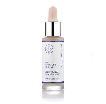 Naturativ Eco Ampule 2 Serum Anti-Aging przeciwstarzeniowe serum do twarzy i szyi 30ml