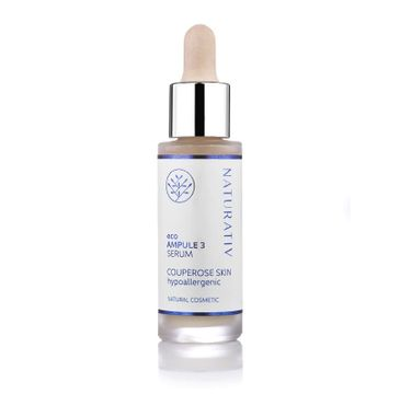Naturativ Eco Ampule 3 Serum Couperose Skin serum do cery naczynkowej 30ml