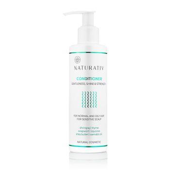 Naturativ Gentleness Shine & Strength Conditioner odżywka do włosów łagodność blask & wzmocnienie 200ml