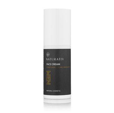 Naturativ Men Anti-Aging Face Cream przeciwstarzeniowy krem do twarzy dla mężczyzn 50ml