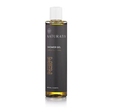 Naturativ Men Gentle Cleansing Shower Gel żel pod prysznic dla mężczyzn 250ml