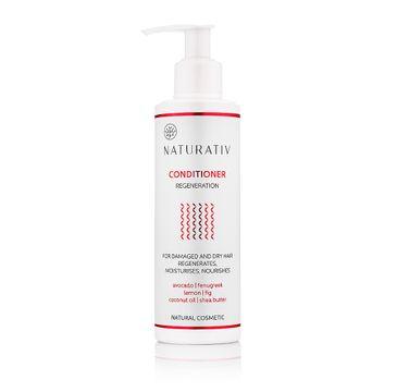Naturativ Regeneration Conditioner For Damaged & Dry Hair regenerująca odżywka do włosów 250ml