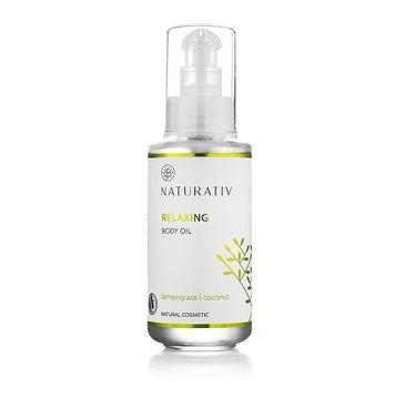 Naturativ Relaxing Body Oil relaksujący olejek do ciała Trawa Cytrynowa & Kokos 100ml