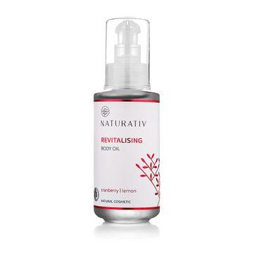 Naturativ Revitalising Body Oil olejek do ciała Żurawina & Cytryna 100ml