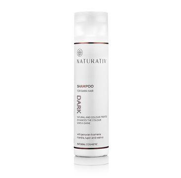 Naturativ Shampoo For Dark Hair szampon do ciemnych włosów 250ml