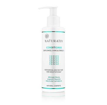 Naturativ Shampoo Gentlness Shine & Strength szampon dla wrażliwej skóry głowy 250ml