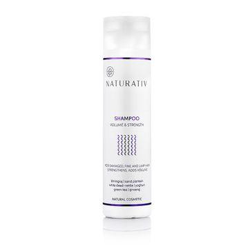 Naturativ Shampoo Volume & Strenght szampon do włosów zniszczonych i cienkich 250ml