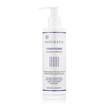 Naturativ Volume & Strength Conditioner odżywka do włosów objętość & wzmocnienie 200ml