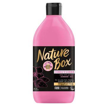 Nature Box Almond Oil odżywka do włosów ułatwiająca rozczesywanie 385 ml