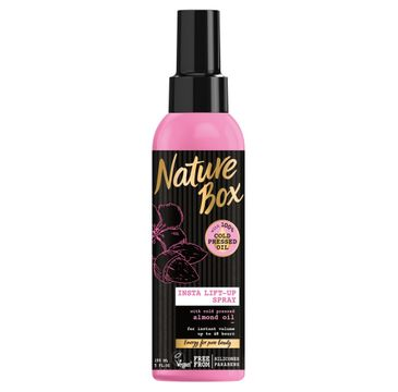 Nature Box Almond Oil spray do włosów nadający objętość 150 ml