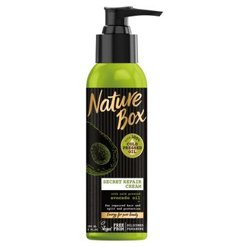 Nature Box Avocado Oil krem do włosów regenerujący 150 ml