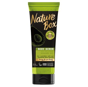 Nature Box Avocado Oil scrub do ciała wygładzający 200 ml