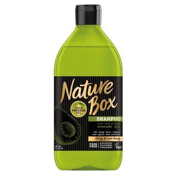 Nature Box Avocado Oil szampon do włosów regenerujący 385 ml