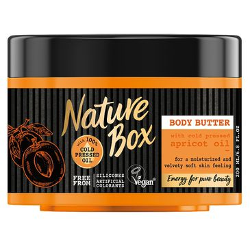 Nature Box Body Butter masło do ciała Apricot Oil 200ml