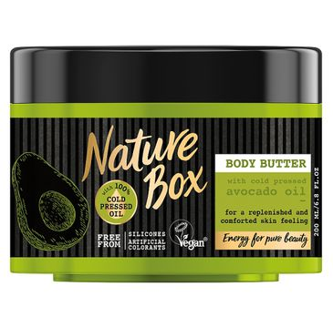 Nature Box Body Butter masło do ciała Avocado Oil 200ml