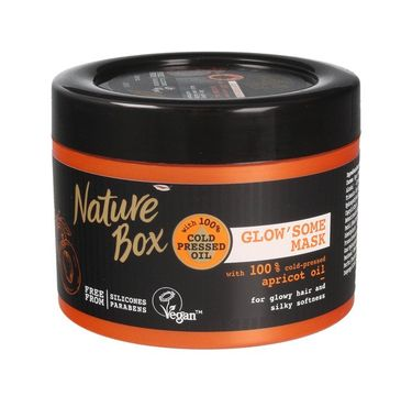 Nature Box Maska do włosów Apricot Oil 200ml