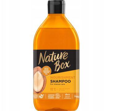Nature Box Nourishment Shampoo odżywczy szampon do włosów z olejkiem arganowym (385 ml)