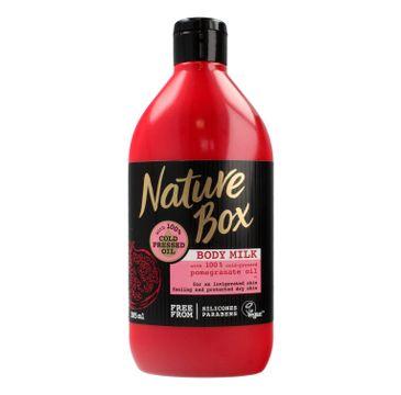Nature Box Pomegranate Oil mleczko do ciała nawilżające 385 ml