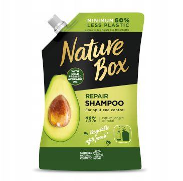 Nature Box Repair Shampoo szampon do włosów Avocado Oil Refill (500 ml)