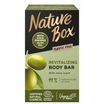 Nature Box Revitalizing Body Bar rewitalizująca kostka myjąca do ciała Olive (100 g)