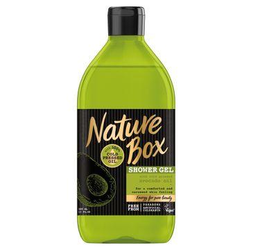 Nature Box żel pod prysznic z olejkiem z awokado 385 ml