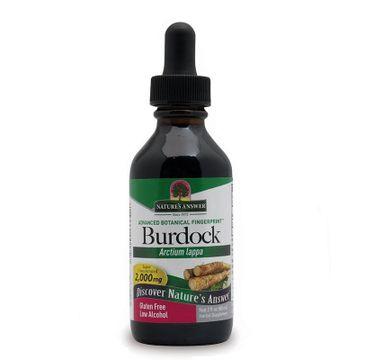Nature's Answer Burdock korzeń łopianu większego suplement diety 30ml