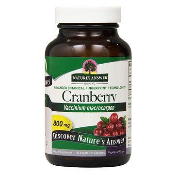 Nature's Answer Cranberry żurawina suplement diety 90 kapsułek